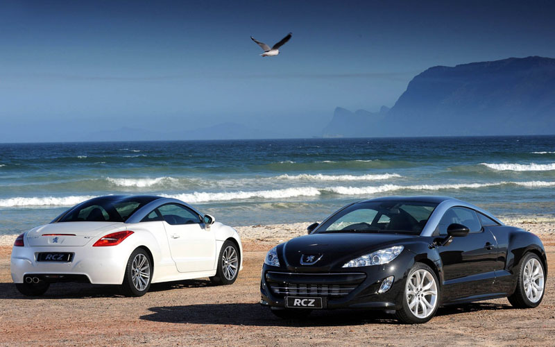 beach-sea-peugeot-rcz