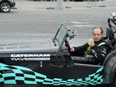 Terry Grant And The Caterham